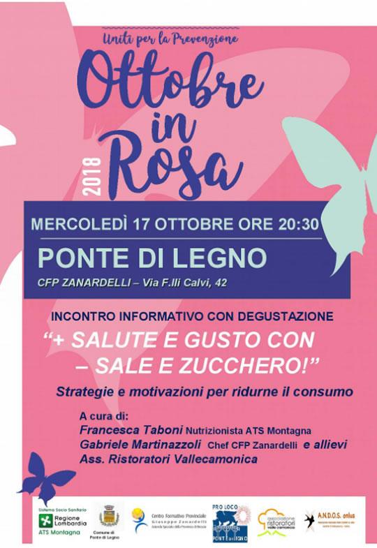 Ottobre in Rosa a Ponte di Legno