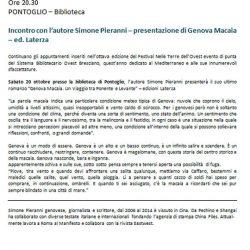 Presentazione di Genova Macaia a Pontoglio
