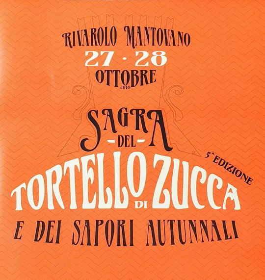 Sagra del Tortello di Zucca a Rivarolo Mantovano