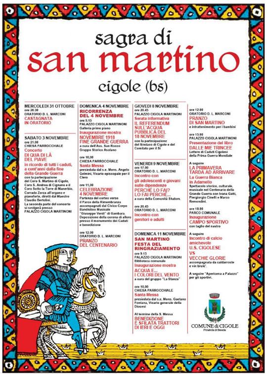 Sagra di San Martino a Cigole