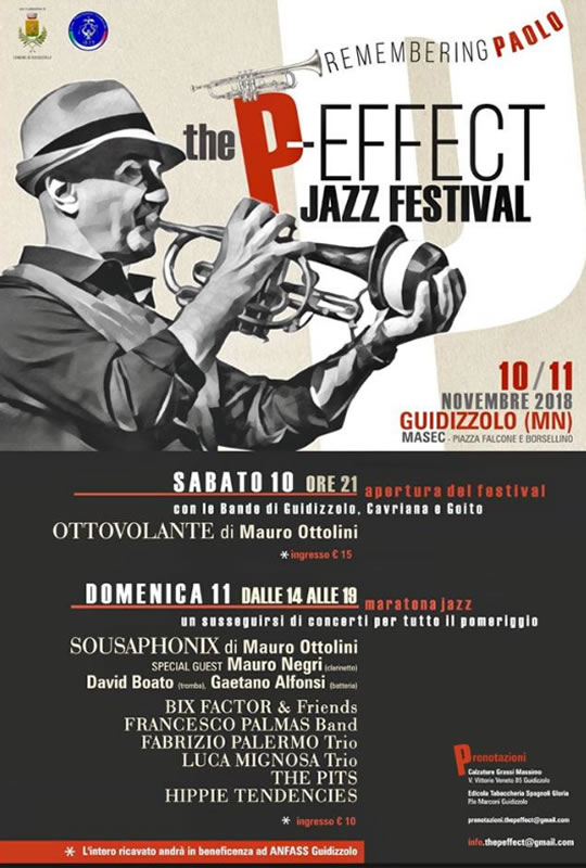 The Peffect Jazz Festival a Guidizzolo MN