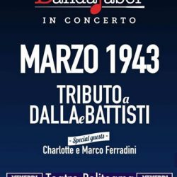 Tributo a Dalla e Battisti a Manerbio