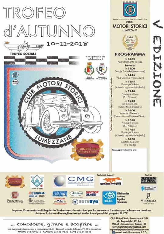 Trofeo D'Auturnno a Lumezzane
