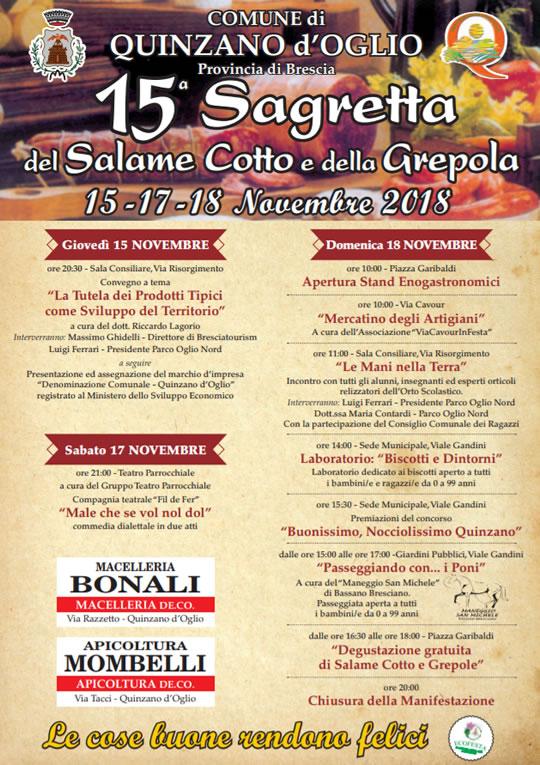 15 Sagretta del Salame e della Grepola a Quinzano d'Oglio