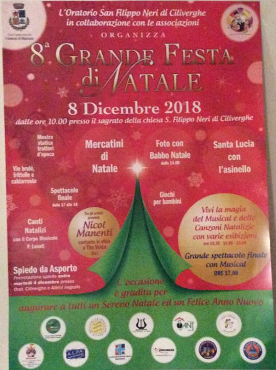 8 Grande Festa di Natale a Ciliverghe