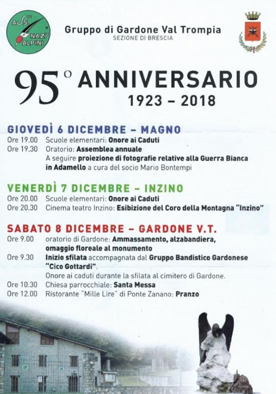95 Anniversario Alpini Gardone Val Trompia