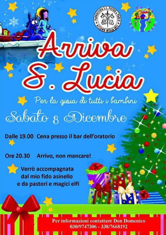 Arriva S. Lucia Azzano Mella