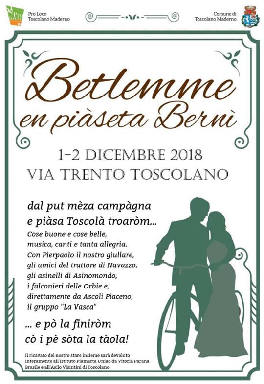 Betlemme en Piaseta Bernì a Toscolano Maderno