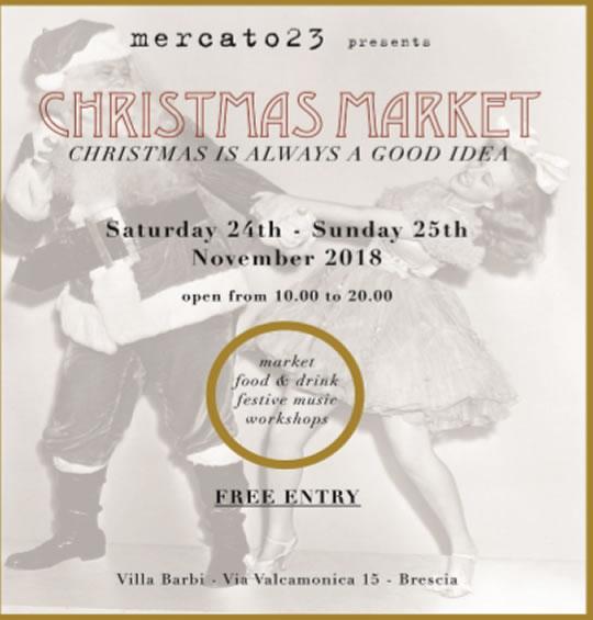 Christmas Market a Brescia