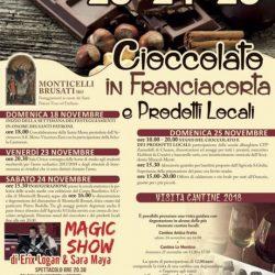 Cioccolato in Franciacorta e Prodotti Locali a Monticelli Brusati