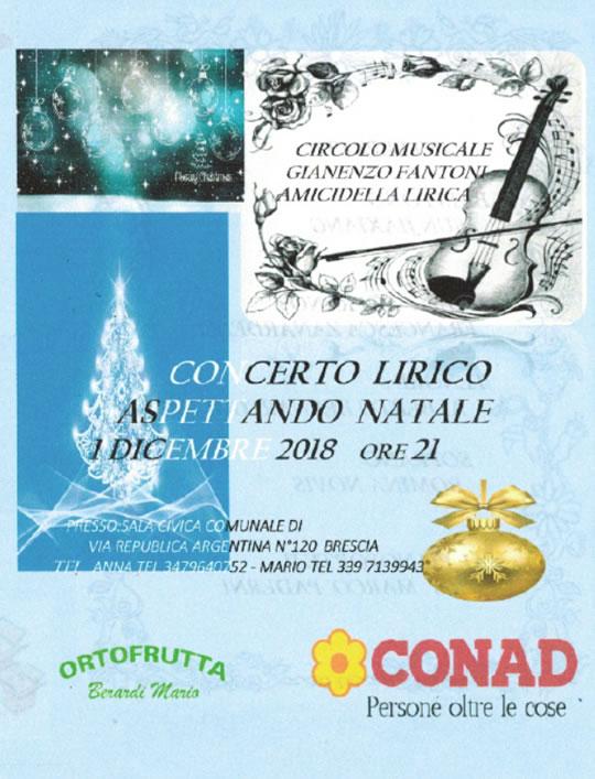 Concerto Lirico a Brescia