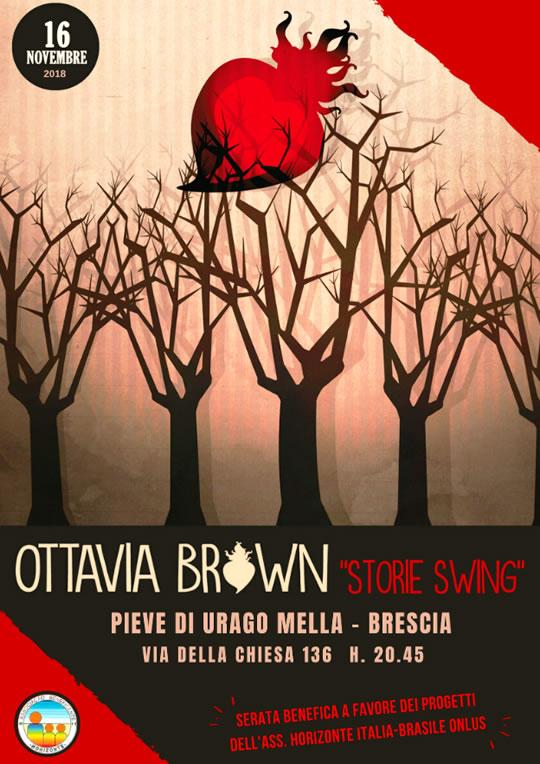 Concerto di Ottavia Brown a Urago Mella