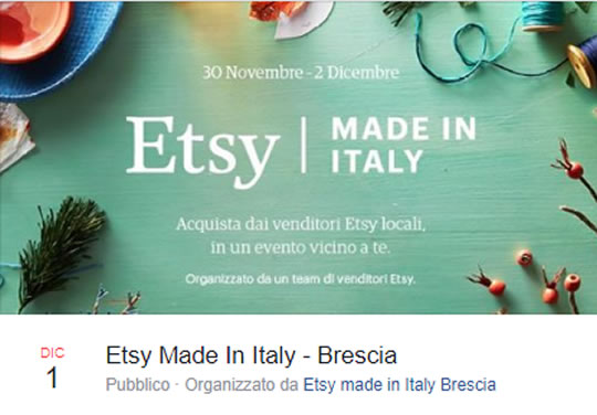 Etsy Made in Italy a Brescia
