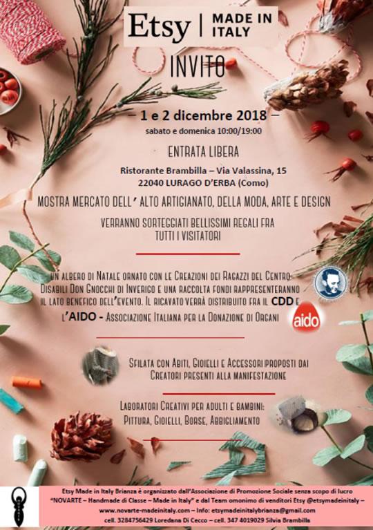 Etsy Made in Italy a Lurago d'Erba CO