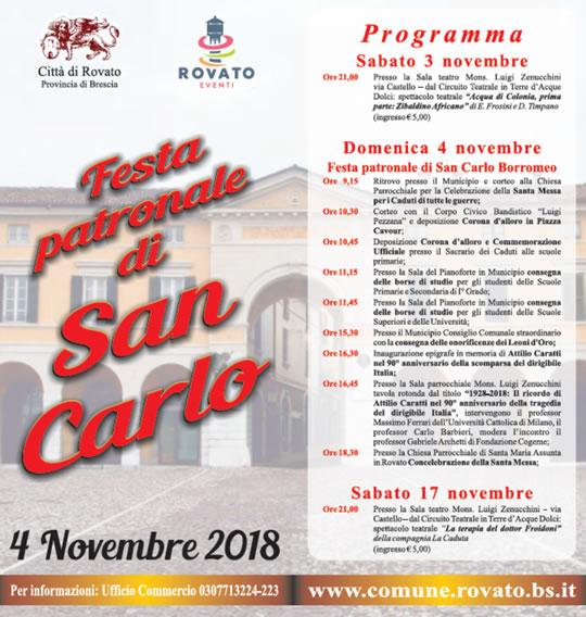 Festa Patronale di San Carlo a Rovato