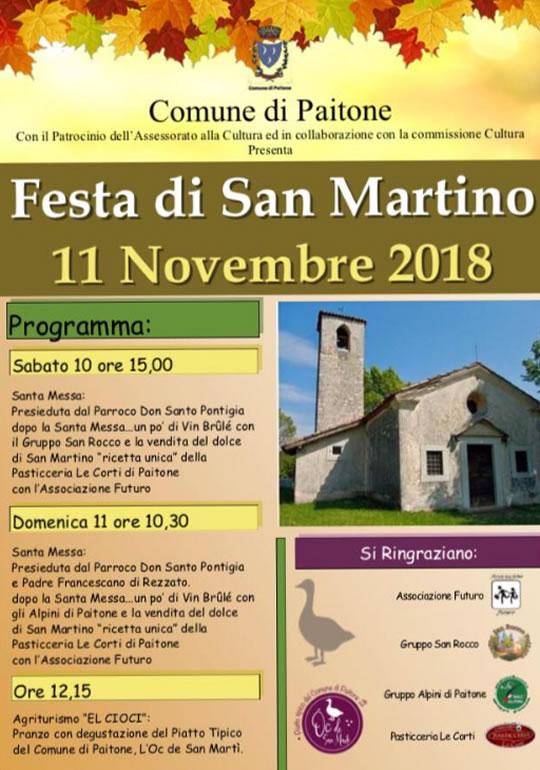 Festa di San Martino a Paitone