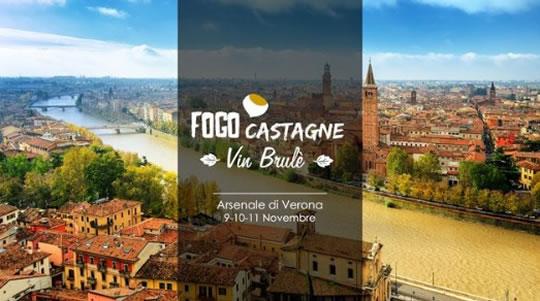Fogo Castagne e Vin Brulè a Verona