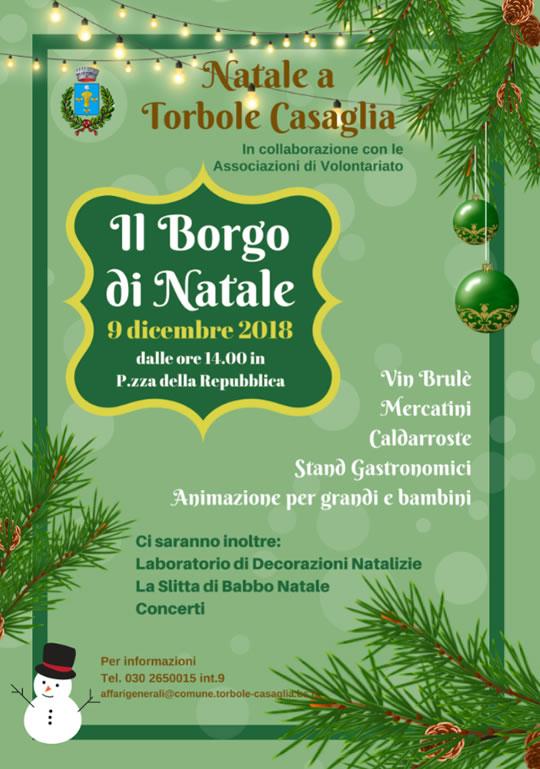 Il Borgo di Natale a Torbole Casaglia