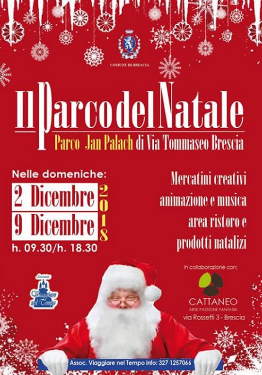 Il Parco del Natale a Brescia