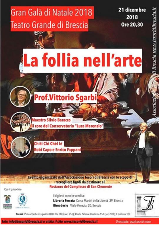 La Follia nell'Arte a Brescia