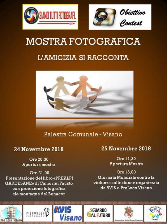 Mostra Fotografica L'Amicizia si Racconta a Visano