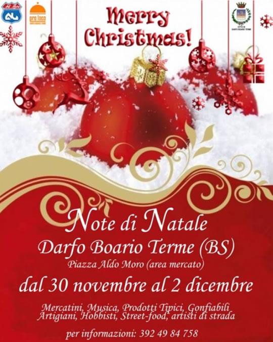Note di Natale a Darfo Boario Terme