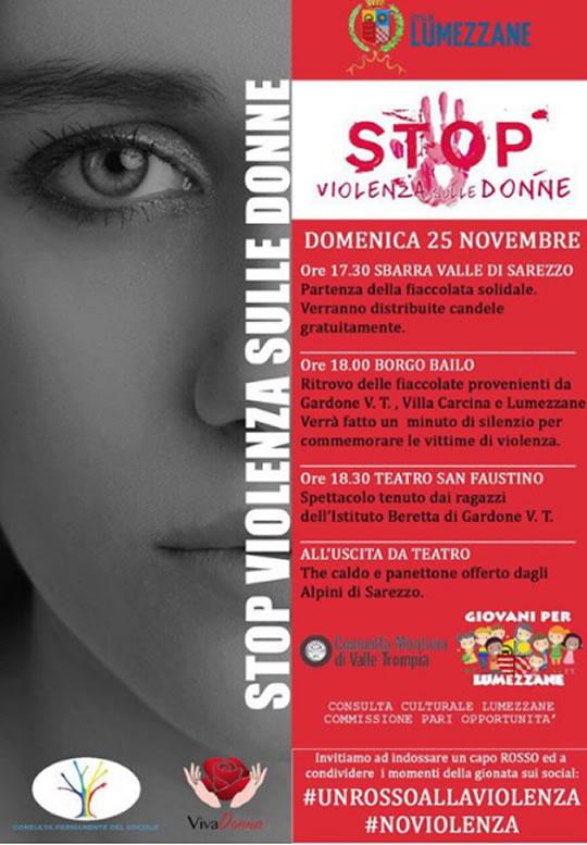 Stop Violenza sulle Donne a Lumezzane