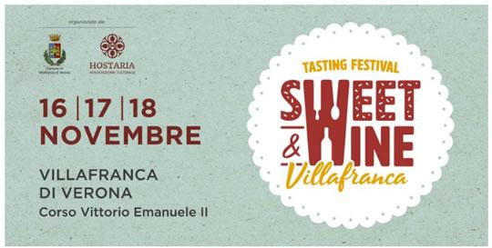 Tasting Festival Sweet e Wine a Villafranca VR