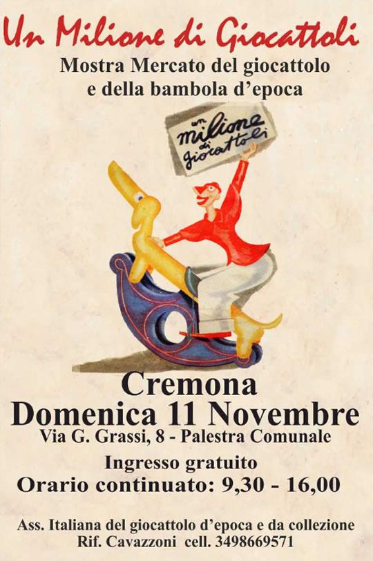 Un Milione di Giocattoli a Cremona