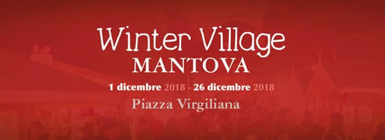 Winter Village a Mantova