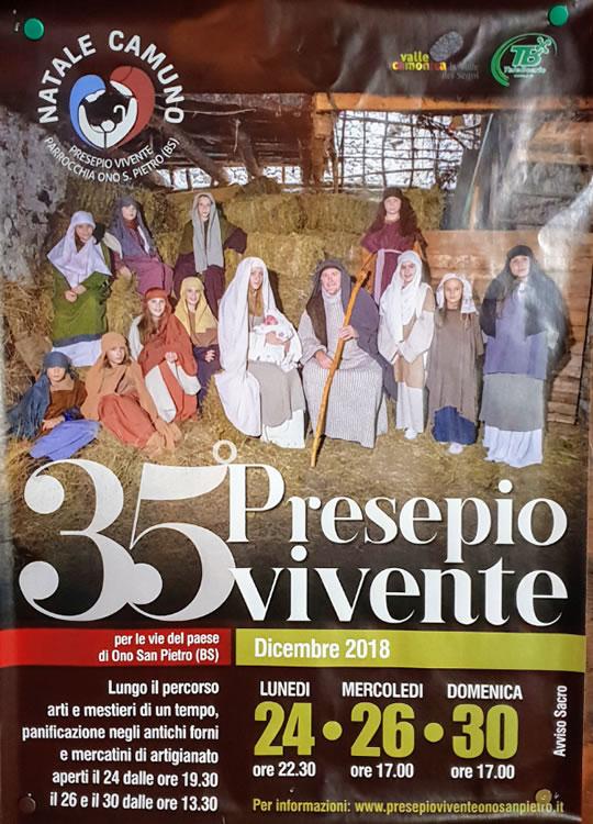 35 Presepio Vivente a Ono San Pietro