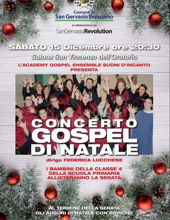Concerto Gospel di Natale a San Gervasio