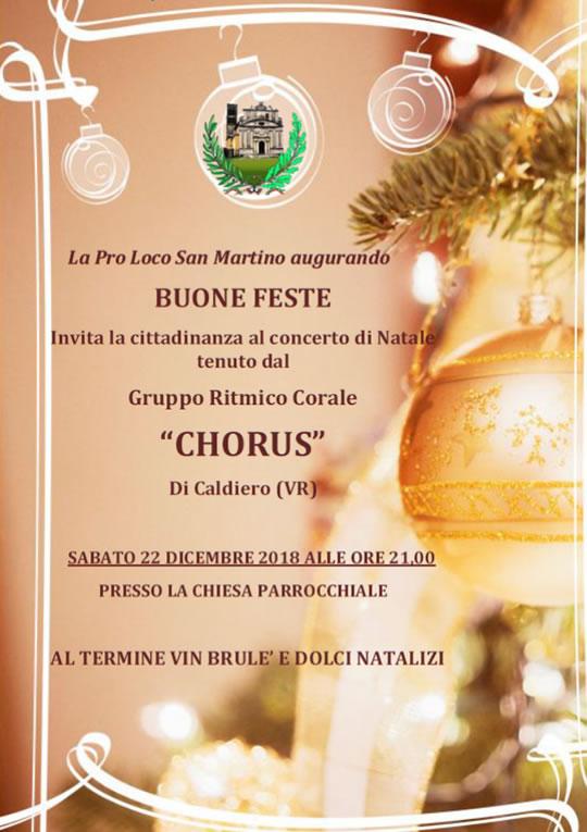 Concerto di Natale a San Martino