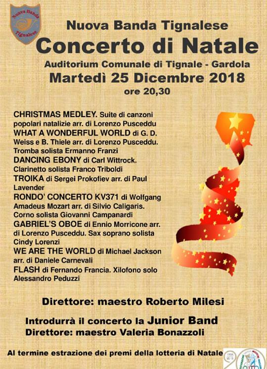 Concerto di Natale a Tignale