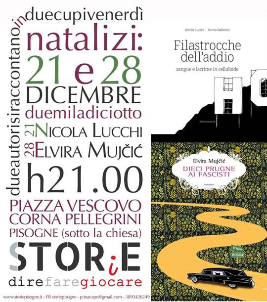Due Autori per due cupi venerdì natalizi a Pisogne