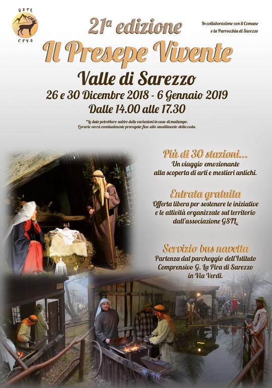 Il Presepe Vivente a Valle di Sarezzo