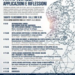 Intelligenza Artificiale Conference Applicazioni e Riflessioni a Brescia