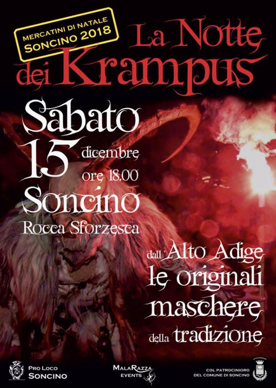 La Notte dei Krampus a Soncino