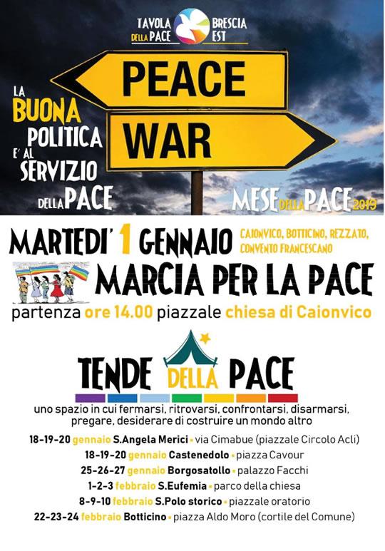 Marcia per la Pace a Caionvico