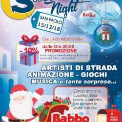 Shopping Night San Paolo