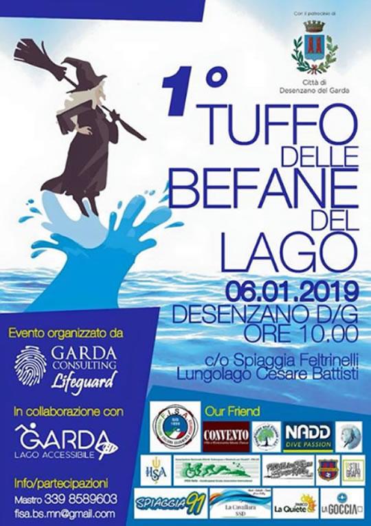 Tuffo delle Befane del Lago a Desenzano