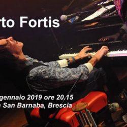 Alberto Fortis a Brescia