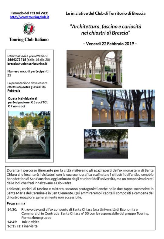 Architettura fascino e curiosità nei chiostri di Brescia
