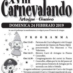 Carnevalando Artogne Gianico