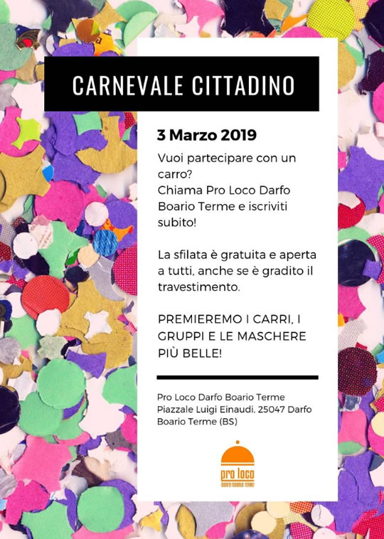 Carnevale Cittadino a Darfo Boario Terme