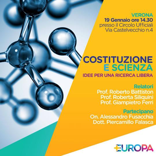 Costituzione e Scienza a Verona