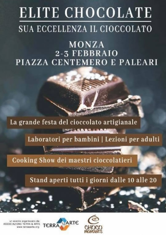Elite Chocolate a Monza