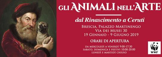 Gli Animali nell'Arte a Brescia