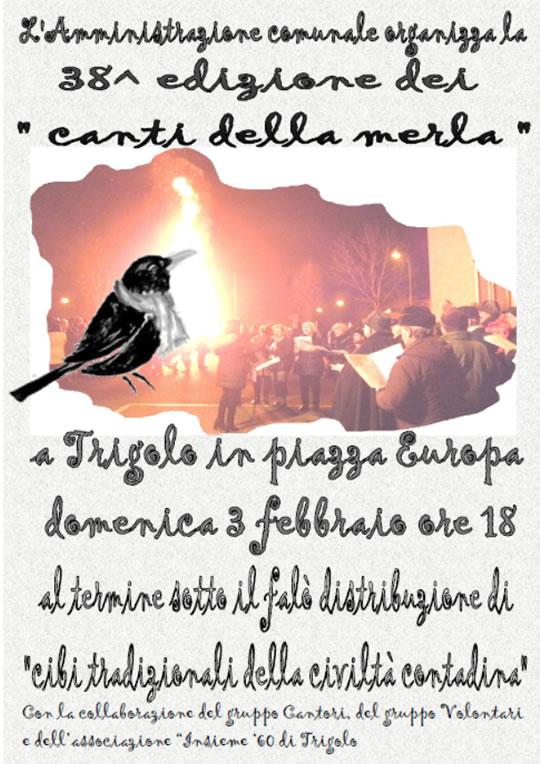 I Canti della Merla a Trigolo