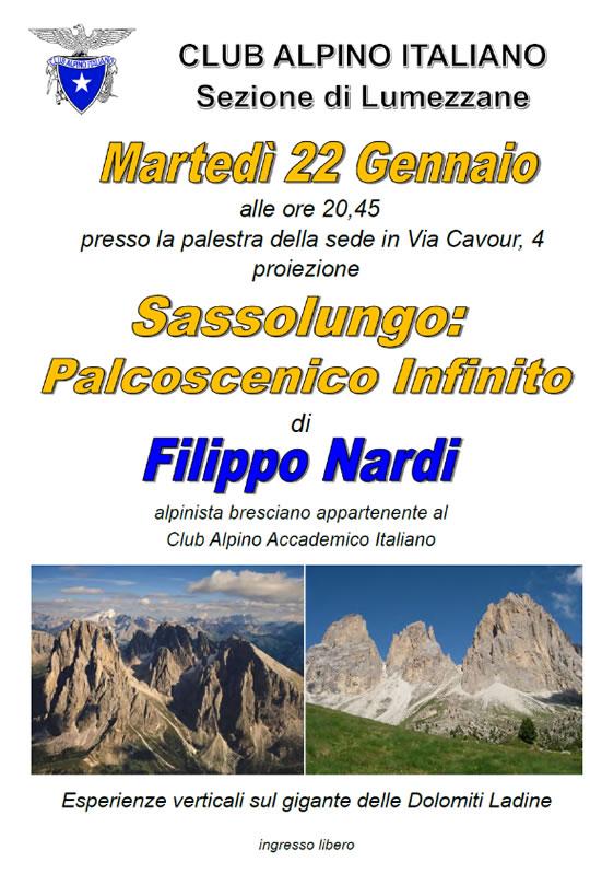 Sassolungo Palcoscenico Infinito a Lumezzane